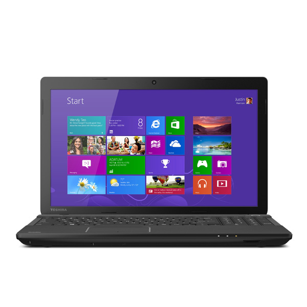 "Portatil Core® i3 3ra. Generacion Toshiba C55-A5311  Satellite® 15.6"" LED 4Gb 750Gb Dvd±Rw Negro"