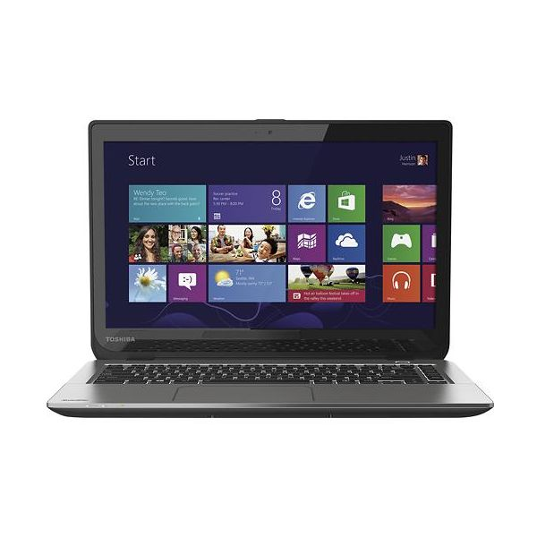 "Portatil Core® i5 4Ta. Generación Toshiba E45T-A4200 Satellite® 14.0"" LED Touchscreen 6Gb 500Gb Dvd±Rw Gris metálico"
